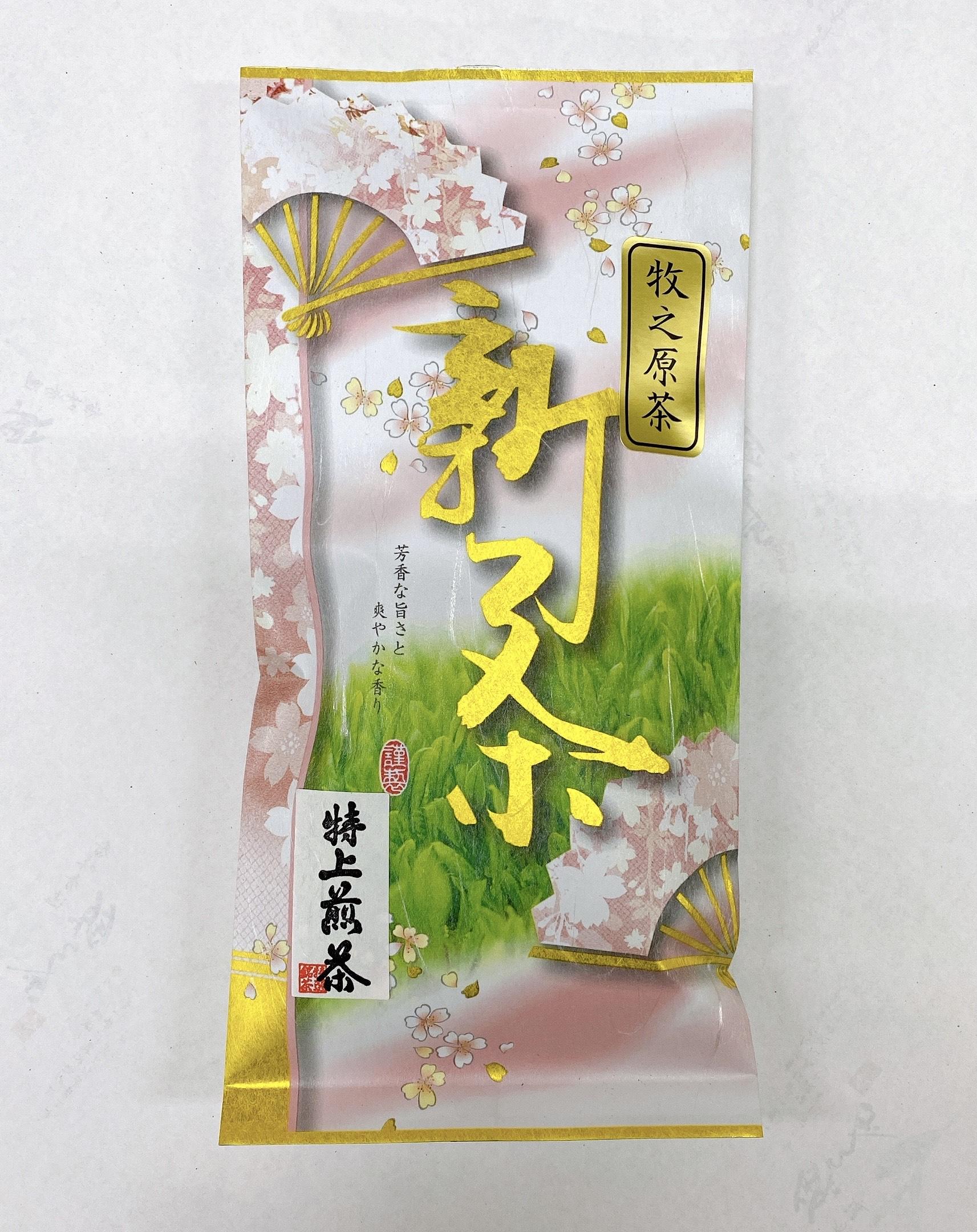静岡茶(牧之原茶)02特上煎茶100グラム入り